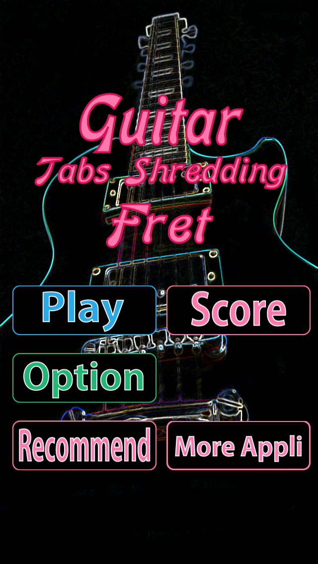Learn Shred Guitar Main