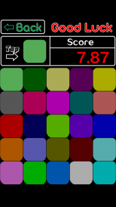 Color Test - Check out sense of measurement balance arrangement | iPhone Android Free Game