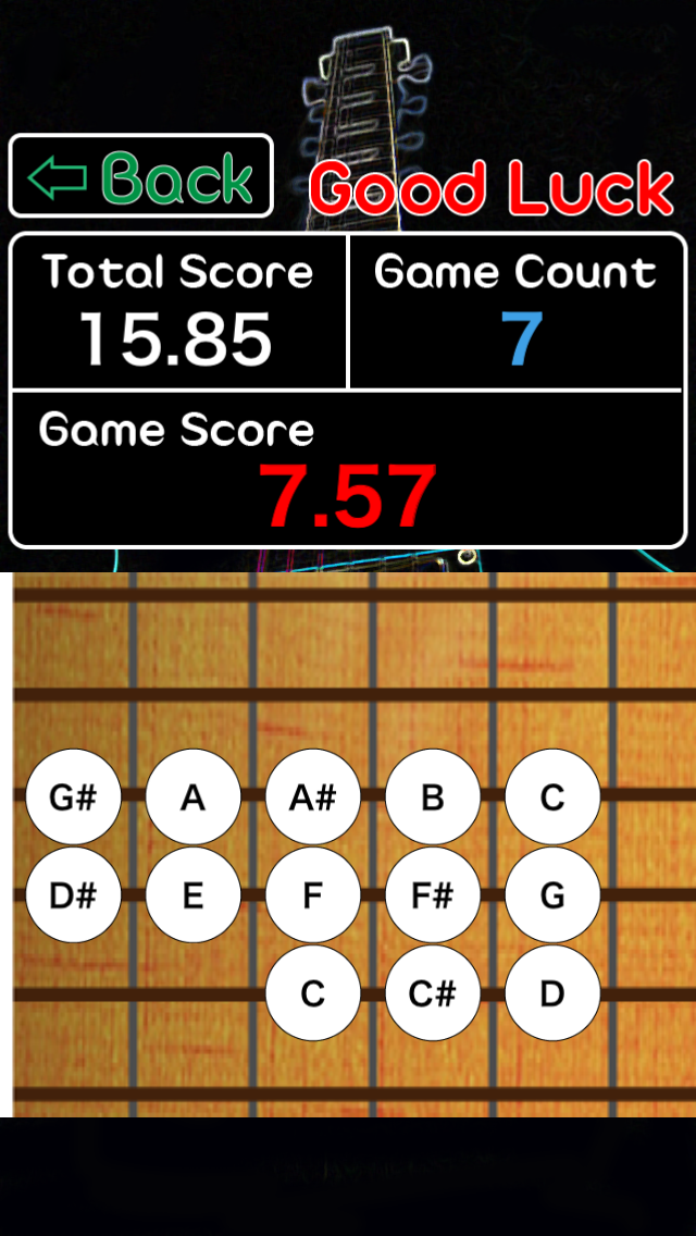 Guitar Perfect Chord Game