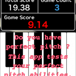 Perfect Pitch For Piano Fast Tap – Do you have absolute pitch? Play free music.