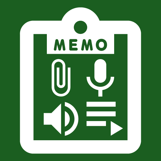 Speak Memo And Audio Text Icon